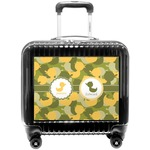 Rubber Duckie Camo Pilot / Flight Suitcase (Personalized)