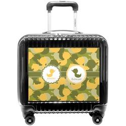 Rubber Duckie Camo Pilot / Flight Suitcase (Personalized)