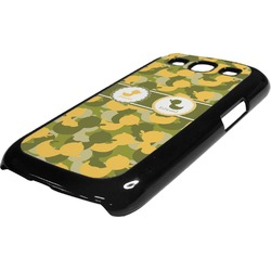 Rubber Duckie Camo Plastic Samsung Galaxy 3 Phone Case (Personalized)