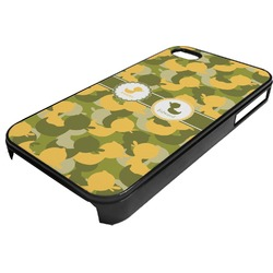 Rubber Duckie Camo Plastic 4/4S iPhone Case (Personalized)