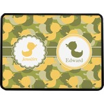 Rubber Duckie Camo Rectangular Trailer Hitch Cover (Personalized)