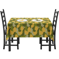 Rubber Duckie Camo Tablecloth (Personalized)