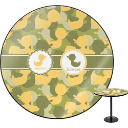 Rubber Duckie Camo Round Table (Personalized)