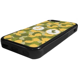 Rubber Duckie Camo Rubber iPhone 5C Phone Case (Personalized)