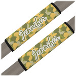 Rubber Duckie Camo Seat Belt Covers (Set of 2) (Personalized)