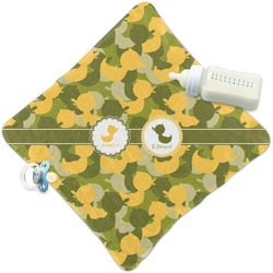 Rubber Duckie Camo Security Blanket (Personalized)