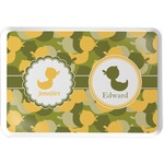 Rubber Duckie Camo Serving Tray (Personalized)