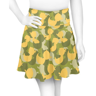 Rubber Duckie Camo Skater Skirt (Personalized)