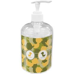 Rubber Duckie Camo Soap / Lotion Dispenser (Personalized)