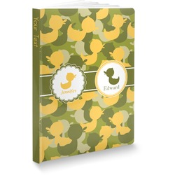 Rubber Duckie Camo Softbound Notebook (Personalized)