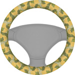 Rubber Duckie Camo Steering Wheel Cover (Personalized)