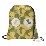 Rubber Duckie Camo Drawstring Backpack (Personalized)