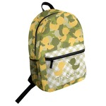 Rubber Duckie Camo Student Backpack (Personalized)