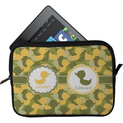 Rubber Duckie Camo Tablet Case / Sleeve (Personalized)
