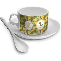 Rubber Duckie Camo Tea Cup - Single (Personalized)