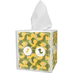 Rubber Duckie Camo Tissue Box Cover (Personalized)