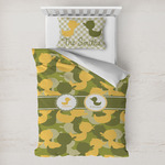 Rubber Duckie Camo Toddler Bedding w/ Multiple Names