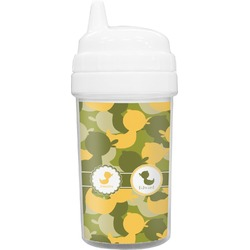 Rubber Duckie Camo Sippy Cup (Personalized)