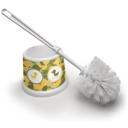 Rubber Duckie Camo Toilet Brush (Personalized)