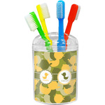 Rubber Duckie Camo Toothbrush Holder (Personalized)