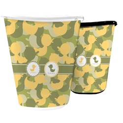 Rubber Duckie Camo Waste Basket (Personalized)