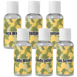 Rubber Duckie Camo Travel Bottles (Personalized)