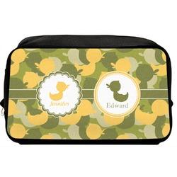 Rubber Duckie Camo Toiletry Bag / Dopp Kit (Personalized)
