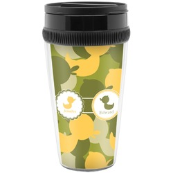 Rubber Duckie Camo Travel Mugs (Personalized)