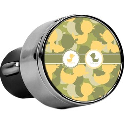 Rubber Duckie Camo USB Car Charger (Personalized)