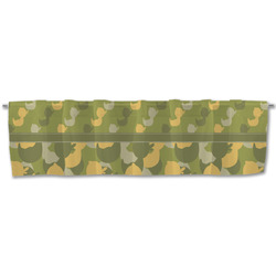 Rubber Duckie Camo Valance (Personalized)