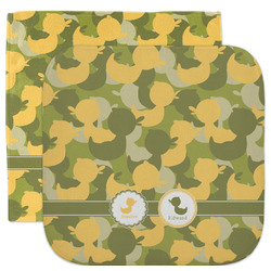 Rubber Duckie Camo Facecloth / Wash Cloth (Personalized)