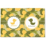 Rubber Duckie Camo Woven Mat (Personalized)