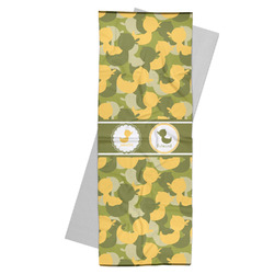 Rubber Duckie Camo Yoga Mat Towel (Personalized)