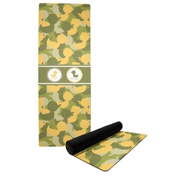 Rubber Duckie Camo Yoga Mat (Personalized)