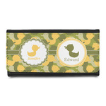 Rubber Duckie Camo Leatherette Ladies Wallet (Personalized)