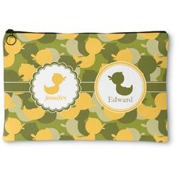 Rubber Duckie Camo Zipper Pouch (Personalized)