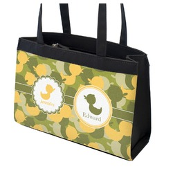Rubber Duckie Camo Zippered Everyday Tote (Personalized)