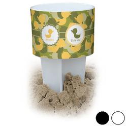 Rubber Duckie Camo Beach Spiker Drink Holder (Personalized)