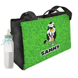 Cow Golfer Diaper Bag (Personalized)