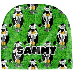 Cow Golfer Baby Hat (Beanie) (Personalized)
