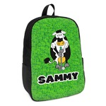 Cow Golfer Kids Backpack (Personalized)