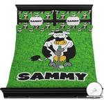 Cow Golfer Duvet Covers (Personalized)