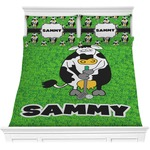 Cow Golfer Comforter Set (Personalized)