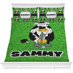 Cow Golfer Comforters (Personalized)