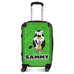 Cow Golfer Suitcase (Personalized)