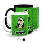 Cow Golfer Coffee Mugs (Personalized)