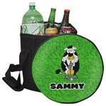 Cow Golfer Collapsible Cooler & Seat (Personalized)