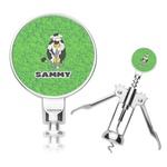 Cow Golfer Corkscrew (Personalized)