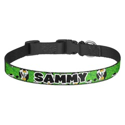Cow Golfer Dog Collar - Multiple Sizes (Personalized)