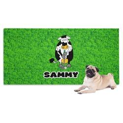 Cow Golfer Pet Towel (Personalized)